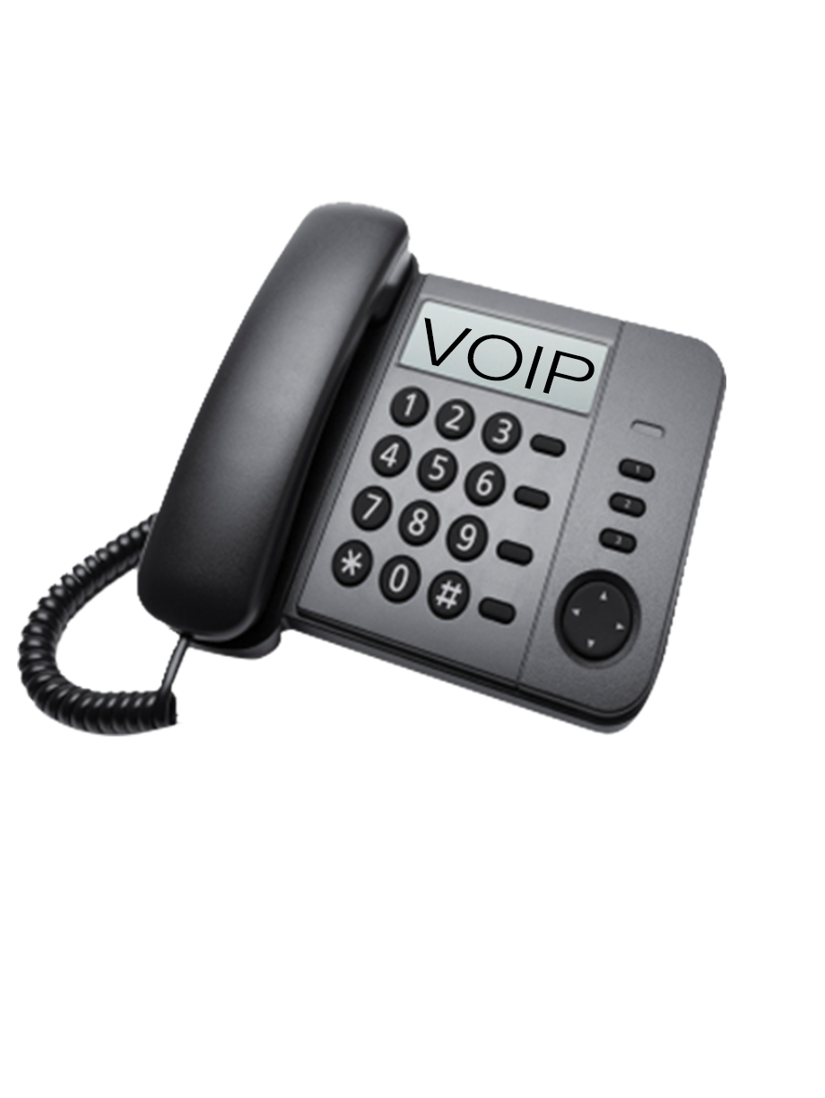VOIP phone over internet